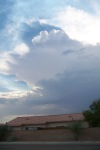 Thunderstorm nearby Cal City 010
